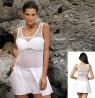 Tunika, oblekica za plažo Marko Ines Bianco, bela