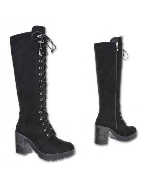 Ženski škornji 81, črni