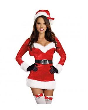 Kostum božička Lovely Santa