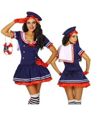 Kostum mornarka Happy Sailor, moder