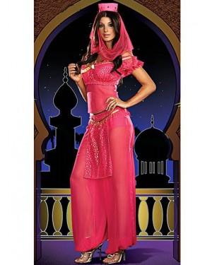 Kostum arabska princesa Pink Queen