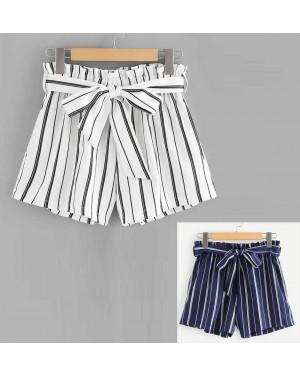 Kratke hlače s črtami Machelle, več barv