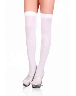 Nogavice prosojne, bele
