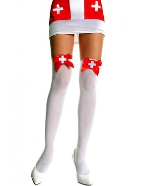 Nogavice bele medicinska sestra Nurse