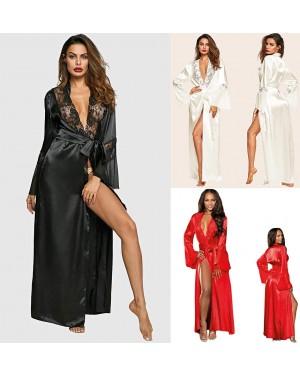 Ogrinjalo, halja satenasta Black Glamour, več barv