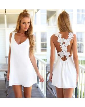 Obleka kratka, tunika Gianna, bela