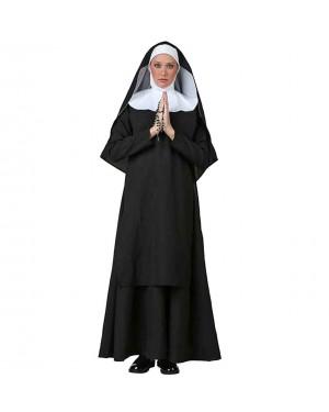 Kostum nuna Deluxe Nun, črn