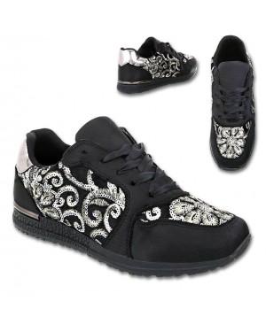 Superge, sneakers G28, črne