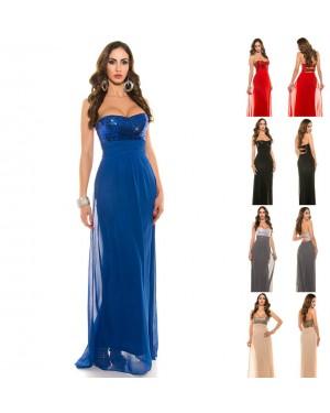 Svečana, dolga obleka Angelique, več barv