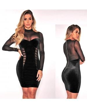 Svečana obleka Linnie, črna