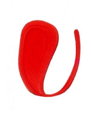 Hlačke C-string, rdeče