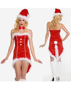 Božični kostum Santa Tuxedo, rdeč