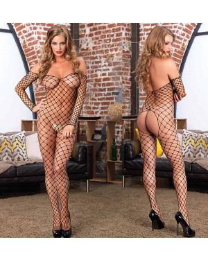 Bodystocking Ramona, črn