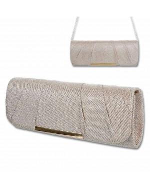 Elegantna torbica 529, zlata