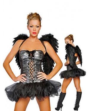 Kostum angel črni Mystique
