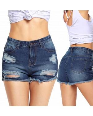 Jeans kratke hlače Hillary, modre