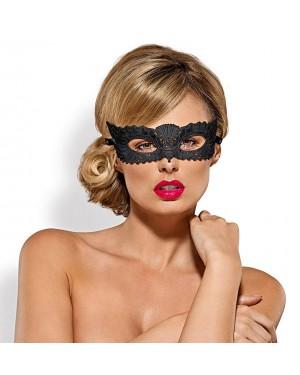 Maska čipkasta Obsessive A700, črna