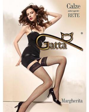 Nogavice samostoječe, mrežaste, Gatta Margherita 01, več barv