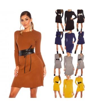 Pletena obleka Mariko, več barv