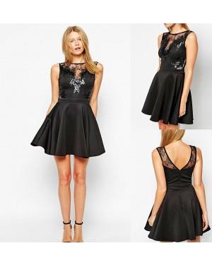 Svečana obleka Cierra, črna