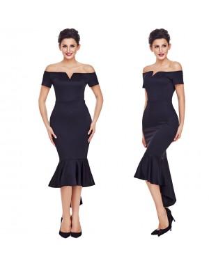 Svečana obleka Marcelina, črna