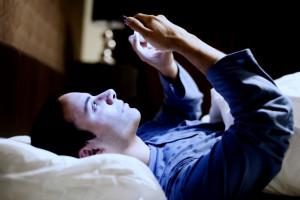 uporaba telefona pred spanjem